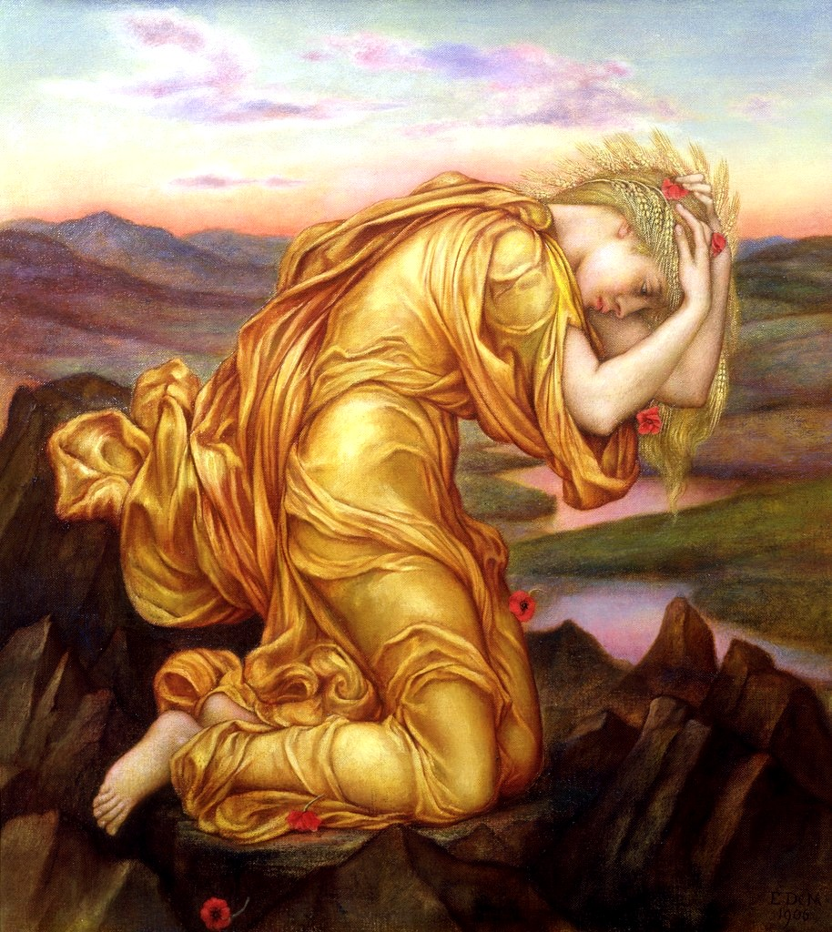 Evelyn de Morgan Demeter 1906
